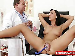 Gyno, Babe, Pump, Teacher, Gyno clinic exam, Pornhub.com