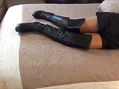 Boots, Slave, Titsjob in boots, Xhamster.com