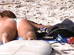 Beach, Caught, Spy, Fat, Boy caught, Xhamster.com