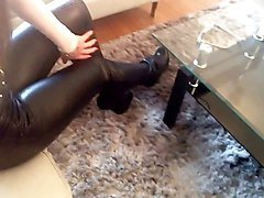 Boots, Leather, Heels, Ass, Leather boots gay, Xhamster.com