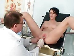 Bus, Doctor, Gyno, Babe, Gyno injection patient, Pornhub.com
