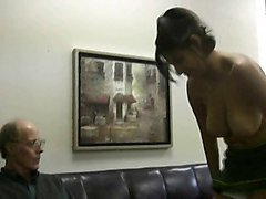 Milk, Natural, Old Man, Big Tits, Youg girl go home old man, Xhamster.com