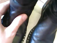 Boots, Leather, Big titts leather, Xhamster.com