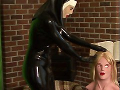 Rubber, Nun, Mask, Gloves rubber, Xhamster.com