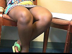 African, French, Upskirt, Voyeur, Exhibe pour voyeur, Xhamster.com