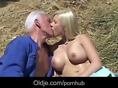 Bus, Blonde, Farm, Nick on the farm, Pornhub.com