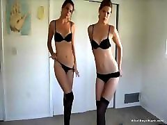 Twins, Strip, Blonde twins, Pornhub.com