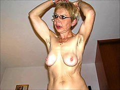 Granny, Ugly, Blond granny hairy creampie doggystyle, Xhamster.com