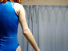 Rubber, Swimsuit, Viola rubber, Xhamster.com