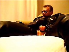 Leather, Leather and lace, Xhamster.com