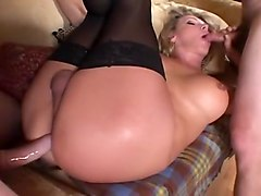Hooker, Bald guy gets fucked from a shemale, Txxx.com